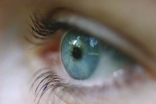 Corneas made from stem cells
